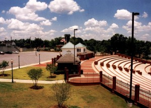 Phenix City Amphitheater Gates