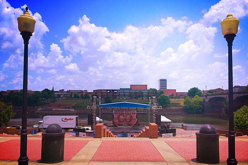 Phenix City Amphitheater Stage