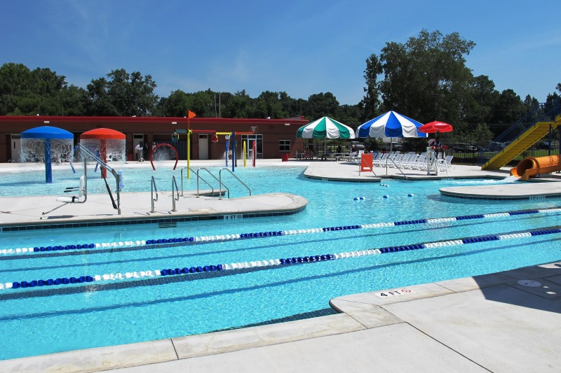 Youth Sports Complex Lane Pool