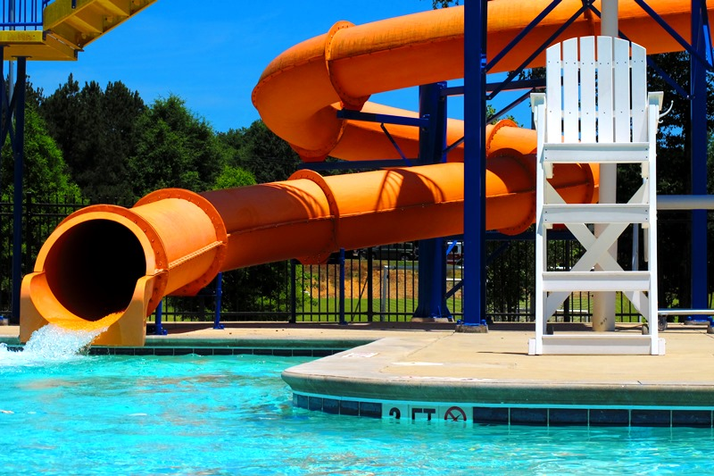 Youth Sports Complex Waterslide