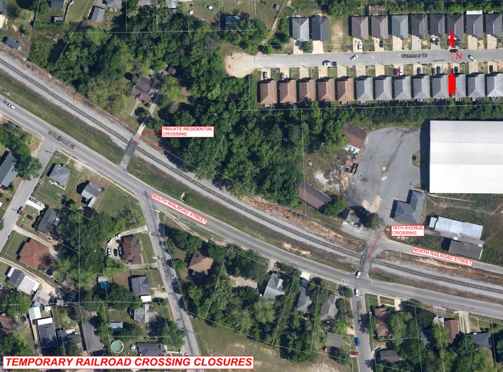 Railroad Crossing Closure - Phenix City