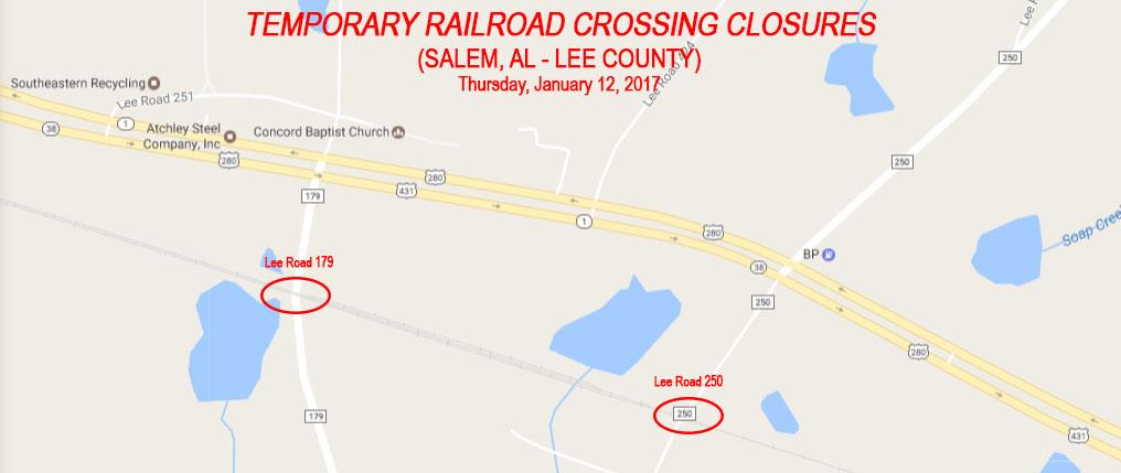 Railroad Crossing Closure - Salem