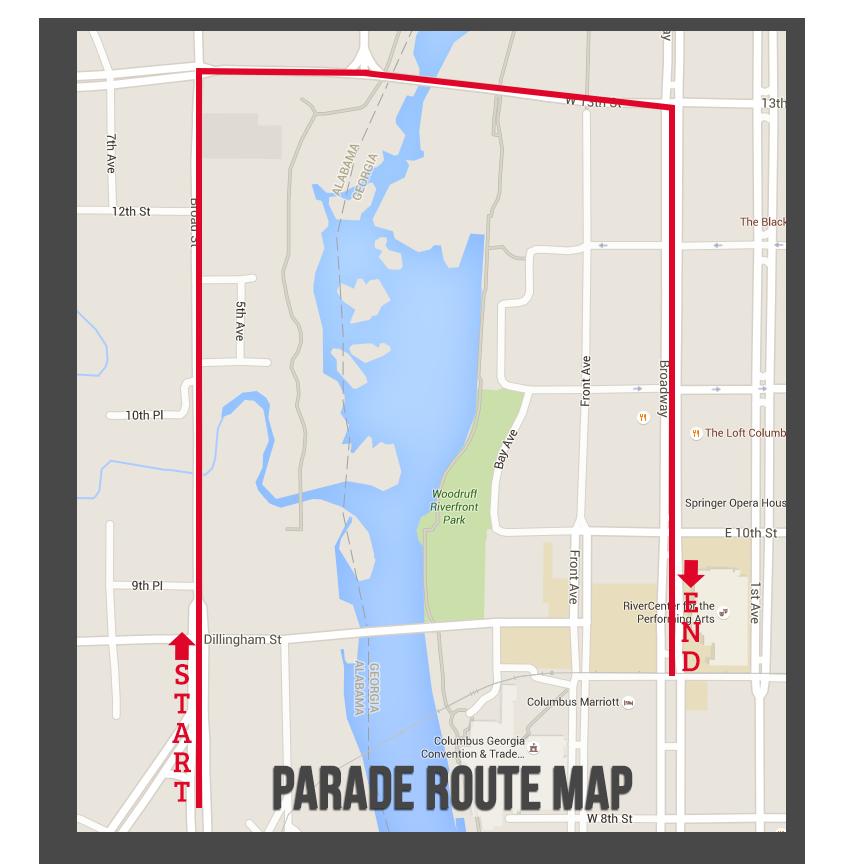 Veterans Day Parade Phenix City Alabama